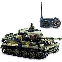 AZALLY Tiger I Panzer RC alemán con Control