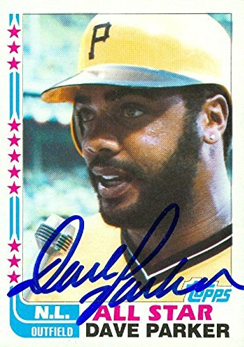 Dave Parker autographed Baseball Card (Pittsburgh Pirates) 1982 Topps All Star #343 - Autographed Baseball Cards ()