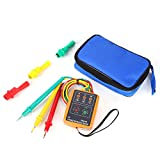 SM-852B 60V~600V AC 3 Phase Sequence Presence Rotation Indicator Tester Detector Meter With LED And Buzzer Tester Phase Indicator