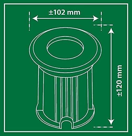 Sol de spot Smartwares 5000.461 Bolton Raccord GU10 Capacit/é de charge de 800/kg