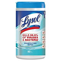 Lysol Disinfecting Wipes, Ocean Fresh, 480ct (6X80ct)