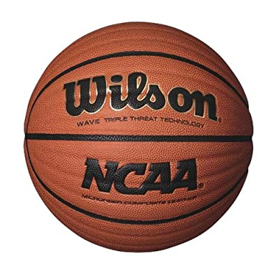Wilson Sporting Goods Team Orange NCAA Wave Microfiber Composite Basketball