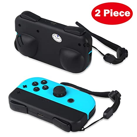 Defway Joy Con Grip, Charging Holder Grips for Nintendo Switch Joy-Con  Controller, Comfort Alternative for Joycon Strap, Joy Con Charger with  Battery