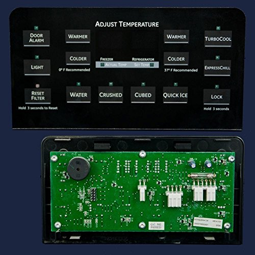 Ge WR55X10862 Refrigerator User Interface Assembly Genuine Original Equipment Manufacturer (OEM) Part ()