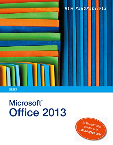 Download New Perspectives on Microsoft Office 2013: Brief Pdf