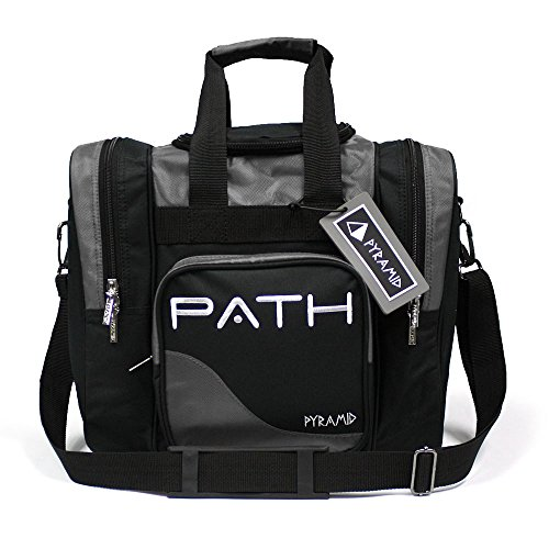 (Pyramid Path Pro Deluxe Single Tote - Black/Silver)