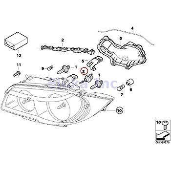 Amazon.com: BMW Genuine Headlight Adjusting Motor ...