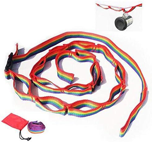 mit Aufbewahrungstasche SMARTRICH Outdoor-Seil zum Aufh/ängen 200 cm