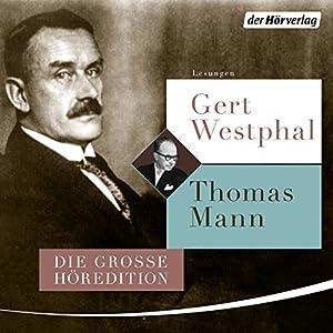 Gert Westphal liest Thomas Mann Hörbuch