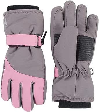 HEAT HOLDERS - Niño impermeable termicos invierno esqui guantes en azul y rosa