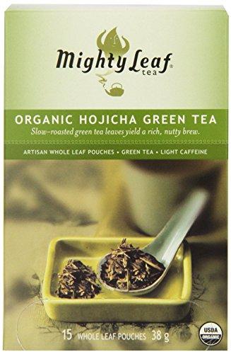 - Mighty Leaf Tea, Organic Hojicha Green Tea --(Pack of 6)