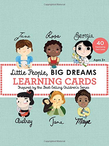 Image for Little People, BIG DREAMS Learning Cards: 40 Fascinating Fact Cards (Little People, BIG DREAMS (24))