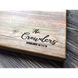 Personalized Cutting Board Custom Couple Family Oak Home Sweet Home Wood Engraved Wedding Gift Anniversary Housewarming Birthday Bridal Shower Christmas Mother custom14