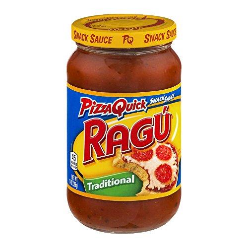 Ragu Pizza Quick Snack Sauce, Traditional, 14 oz