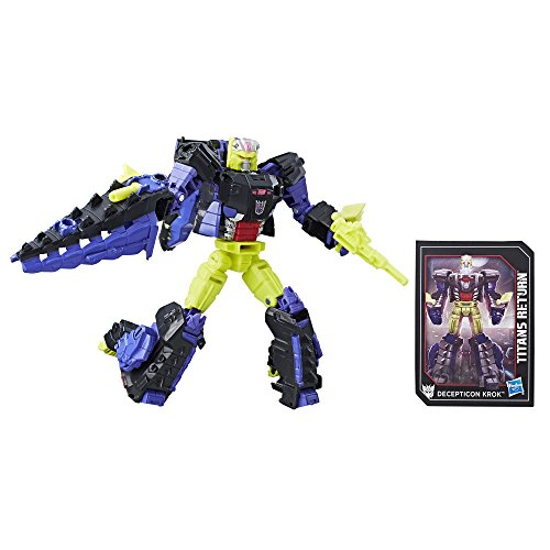 Transformers Generations Titans Return Decepticon Krok and Gatorface
