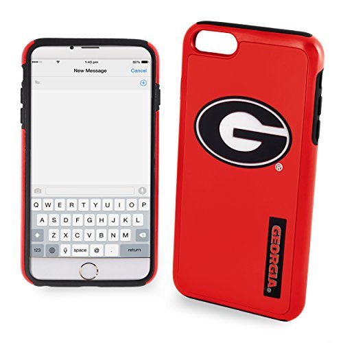 NCAA Georgia IPhone 6 Dual Hybrid Case (2 Piece), Red by Forever