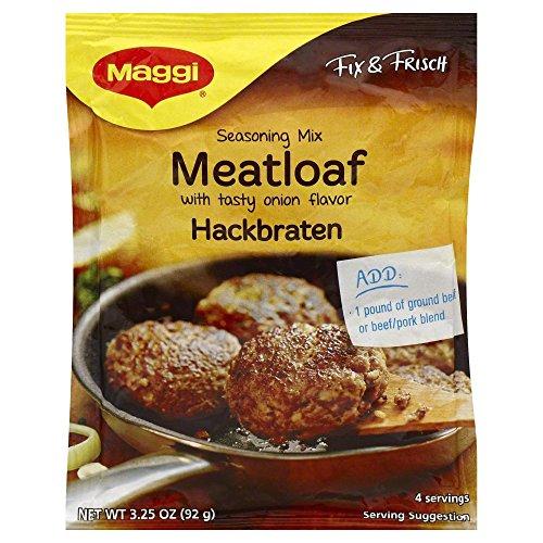 Maggi Fix (Maggi Meatloaf Mix, Hackbraten 3.25 OZ(Pack of 1))