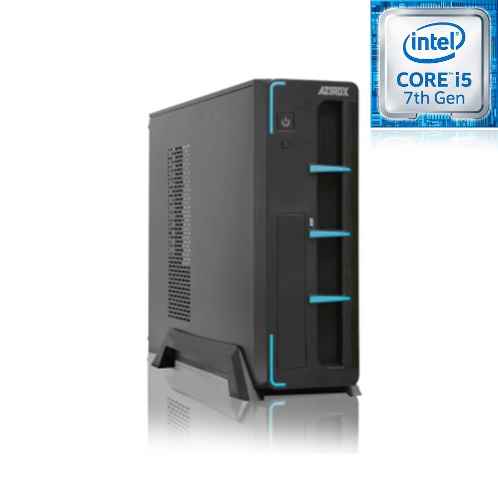 PC Sobremesa Ordenador Azirox Slim Azul Intel i5 7400 3,00 GHz 6 ...