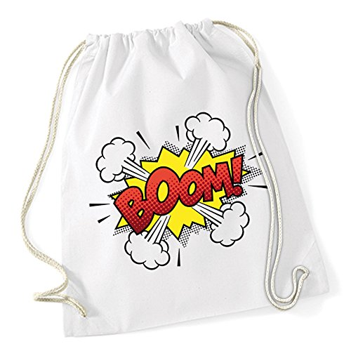 Boom Comic Gymsack White Certified Freak