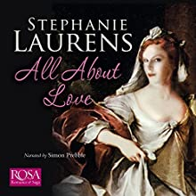 All About Love Audiobook by Stephanie Laurens Narrated by Simon Prebble