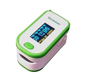 Medical tasa comprobador, detector de oxígeno dedo oxímetro de pulso, hogar, familia Monitor