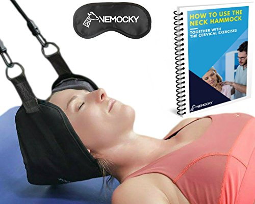 Head Hammock for Neck Pain Relief - Cervical Neck Traction Device - Neck Stretcher (Device Traction)
