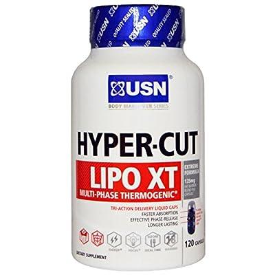 USN, Multi-Phase Thermogenic, Hyper-Cut, Lipo XT , 120 Capsules