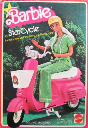Amazon.com: Barbie Star ciclo – Patinete, color Racy Scooter ...