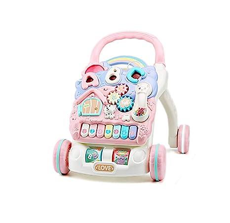 GUO@ Toddler Walker, carretilla Mando a distancia multifunción ...