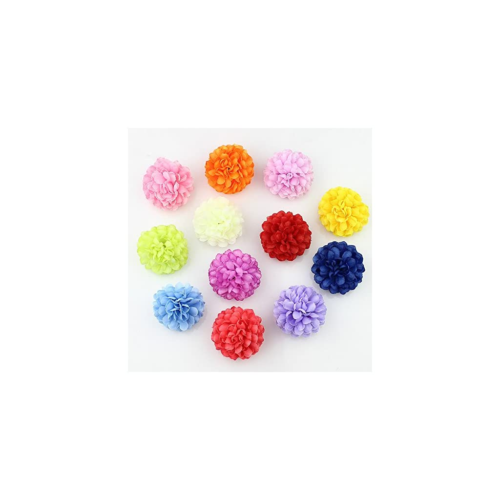 Flower Head In Bulk Wholesale For Crafts Silk Carnation Artificial