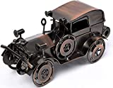 QBOSO Metal Antique Vintage Car Model Handcrafted