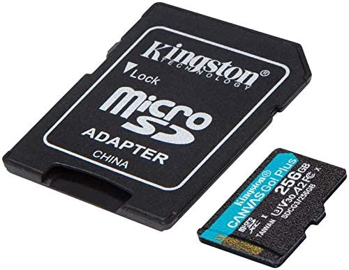 Kingston GO! Plus Works for ROKU Ultra 256GB MicroSDXC Canvas Card Verified via SanFlash. (170MBs Works with Kingston)