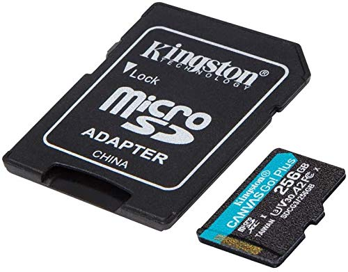 Kingston GO! Plus Works for Nokia N96 256GB MicroSDXC Canvas Card Verified by SanFlash. (170MBs Works with Kingston)