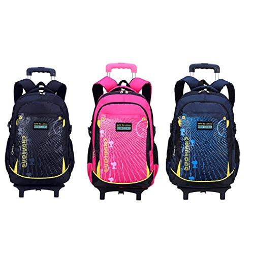 22408713be Coofit Zaino Trolley Scuola per Bambini 6 Rotelle trova prezzo offerta