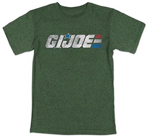 - G. I. Joe G.I. Joe - Retro Logo (slim fit) T-Shirt Size L, Large