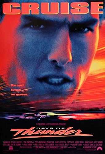 Days Of Thunder Movie Poster Large 24 x 36 inches 61x91.5cm