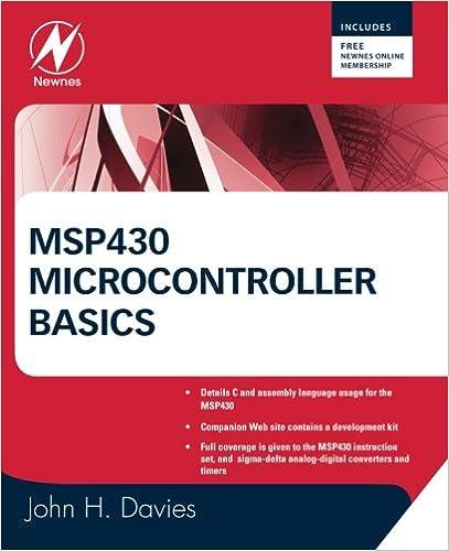 MSP430 Microcontroller Basics: John H  Davies: 9780750682763