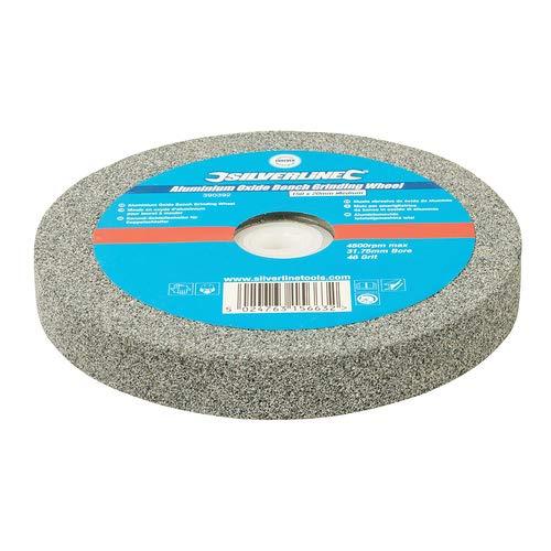 Aluminium Oxide Bench Grinding Wheel 150mm x 20mm Medium Heavy duty 46 grit aluminium oxide