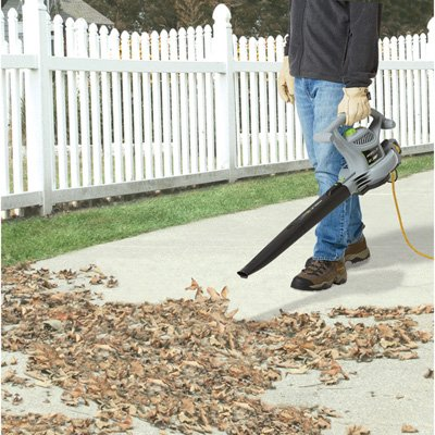 Earthwise BVM22012 12-Amp Variable Speed Corded Electric 3-in-1 Blower/Vacuum/Mulcher