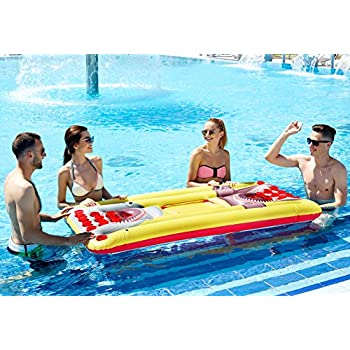 Kenley beer pong pool float inflatable - Amazon inflatable swimming pool toys ...