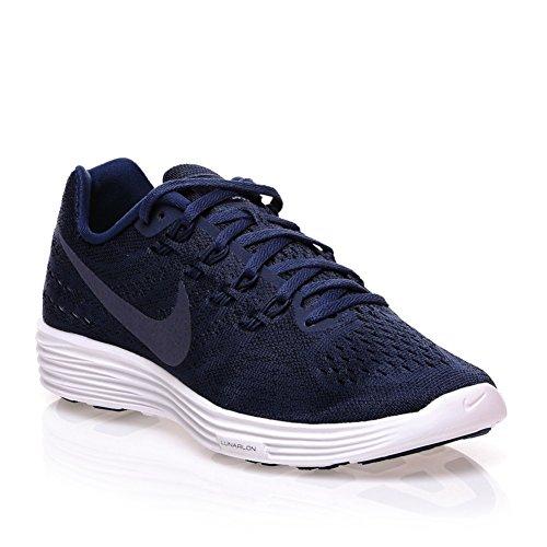 Nike Lunartempo 2, Zapatillas de Running para Hombre Azul Marino / Blanco (Midnight Navy / Mdnght Navy-Wht)