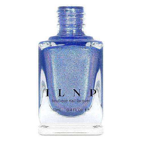 ILNP Tidal Wave - Cornflower Blue Ultra Holographic Nail Polish (Cornflower Color Blue)