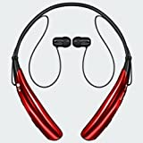 LG Tone Pro HBS-750 Wireless Bluetooth Stereo Headset - Red