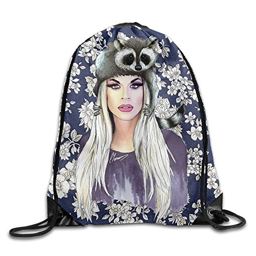 MissMr Katya Zamolodchikova Belt Backpack,Fashion Trend, Polyester Sports Bag,Net Red Part,Men's Handbag,Ladies,Teenager,Adult,Outdoor Work,Office,Lunch Box