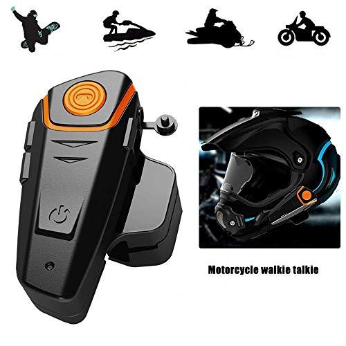 Motorcycle Helmet Intercom,BT Waterproof Motorbike Helmet He