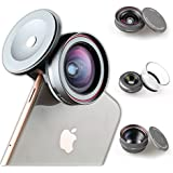 Ztylus Z-PRIME 3+1 Lens Kit: Telephoto, Wide Angle And Macro Lens with Lens Adapter for Apple iPhone 7/8 / 7 Plus / 8 Plus/X