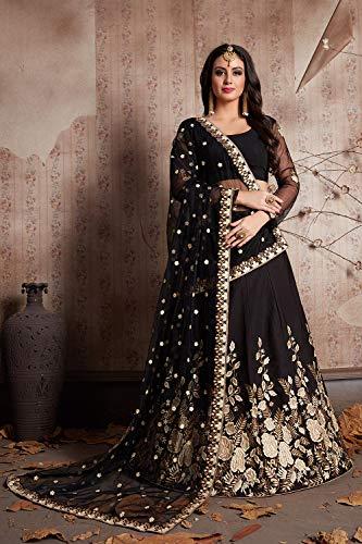 Da Ethnic 5 Traditional Partywear Facioun Designer Lehenga Women Indian B;lack Choli Z1qxROwZ7r