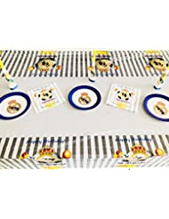 Real Madrid FC Birthday Party Decoration Table Cloth