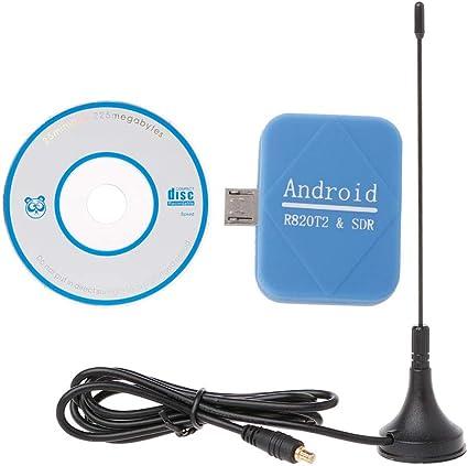 BIlinli Receptor SDR SDR + R820T2 Micro RTL-SDR ADS-B Antena ...