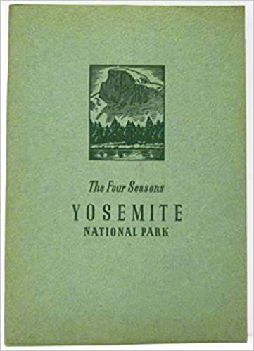 the four seasons in yosemite national park a photographic story of yosemites spectacular scenery with photographs by ansel adams
